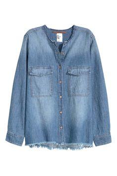 Джинсовая рубашка | H&M
