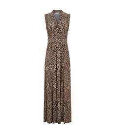 Jaguar Print Maxi Dress