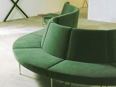 Sectional modular sofa LOBBY PLUS by Inno Interior Oy design Harri Korhonen