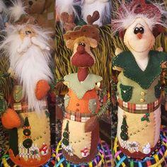 Reno, Merlin, Children, Christmas, Baby Dolls, Xmas, Tejido, Amor, Christmas Ornaments