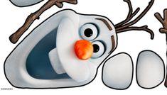 Olaf Frozen Face Template Printable
