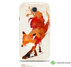 Artist Designed  Samsung Galaxy S4 hardcase / by CreateandCase, £19.99