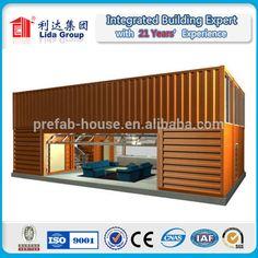 duplex zeecontainer huis of gebouw