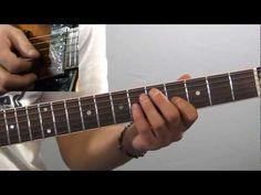 Lezioni di chitarra: passaggio di accordi power chords - YouTube