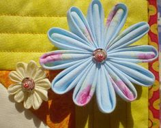 Peek a Boo !: Tutorial: Fabric Origami Flower...