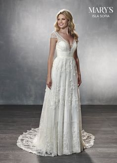 1b87e08cc7d9 Mary's Bridal wedding dress available at The Bridal Shoppe in St. Louis, MO  636