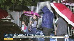 #UBS tem longa fila para vacinação contra febre amarela mesmo com chuva em SP - Globo.com: Globo.com UBS tem longa fila para vacinação…