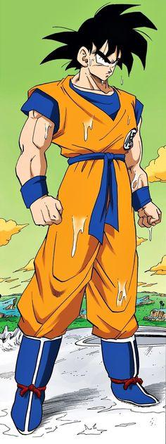 Goku is nat geworden Dragon Ball Z, Dragon Z, Goku Manga, Manga Dragon, Akira, Got Dragons, Bd Comics, Manga Illustration, Son Goku