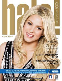 """LAS CADERAS TABASCO: Foto: Shakira en la portada de la revista """"Halo Ma..."""