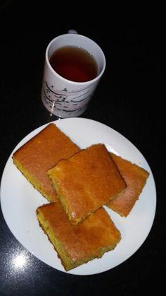 کیک ابری با زعفران T.Tavakoli .V