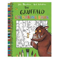 The Gruffalo Colouring Book (Paperback). The Gruffalo is a modern classic and one of the most popular picture books of recent years, with over Gruffalo Activities, Gruffalo Party, The Gruffalo, Drawing Activities, Book Activities, Colouring Pages, Coloring Books, Axel Scheffler, Reading Projects