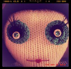 We Are Not Alone. #Knit #Crochet #Doll #Amigurumi #Weird #Alien #Craft