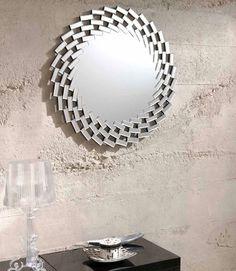 Espejos de cristal moderno : Modelo HELICE