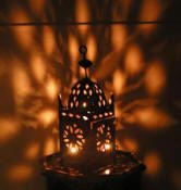 Moroccan style lanterns to rent for Arabian Nights parties