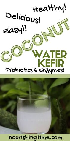 Do you need tips for how to make coconut water kefir successfully? If so, you're in the right place! Learn all the benefits of coconut water, the health benefits of coconut water kefir, and tips to make this nutritious beverage at home! Coconut kefir is full of probiotics to help your gut, digestive enzymes to help you digest your food properly, and nutrients for overall wellness! #coconutwaterkefir #kefir #guthealth #probiotics #nourishingtime #coconutwater #coconut