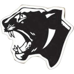 Panther Mascot Magnet from www.schoolspiritstore.com