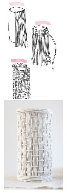 http://www.stylemepretty.com/living/2012/09/23/smp-at-home-diy-rope-vases/  DIY ROPE VASE