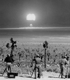 """""""Detonation of the nuclear device air-dropped at Nevada Test Site on March Code named WASP PRIME."""" Photo courtesy of National Nuclear Security Administration / Nevada Site Office Bomba Nuclear, Nuclear Test, Nuclear Bomb, Nuclear Energy, Photos Du, Old Photos, Nevada Test Site, Photos Rares, Rare Historical Photos"""