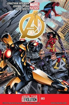 Avengers Vol. 5 #3 		 		The New Adam is born! And on Mars, the battle between the Avengers and the Garden comes to its dramatic conclusion!