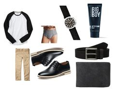 """Big bad olf"" by racheldenisnefeke on Polyvore featuring Hollister Co., Gap, Hanes, Timex, Quiksilver, Timberland, 21 Men, men's fashion, menswear and CasualChic"