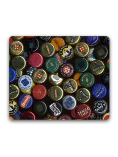 Madanyu - Beer Crowns - In Love with Beer - Mousepad - For Gamers - HD Print