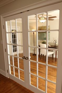 French Doors I Heart Me Some Dining Room