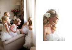 #Flowergirls in white tutus I Image by Blumenthal Photography