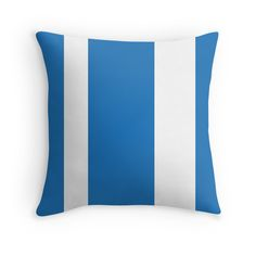 Seaside - Throw Pillow Cover - Blue - pop over to the designer's own shop at annumar.com