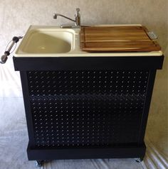 A personal favorite from my Etsy shop https://www.etsy.com/listing/206532281/custom-made-portable-sink