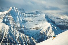 Postcard Perfect: Hit the Slopes in Lake Louise