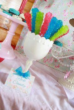 Princess / Birthday Shabby Chic Baby Princess 1st Birthday Party | Catch My Party