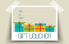 A gift voucher template cannot be exchanged for cash. The recipient of gift voucher can purchase the goods or services of his own choice from the said shop from which Gift Certificate Template Word, Birthday Certificate, Gift Certificates, Certificate Design, Unique Graduation Gifts, Unique Birthday Gifts, Magazine Subscription Gift, Best Valentine Gift, Gift Vouchers