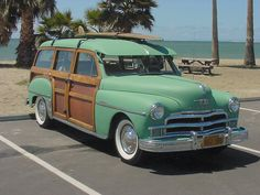 '50 Plymouth woodie..Beep beep..Re-pin brought to you by agents of #Carinsurance at #Houseofinsurance in #Eugene/Springfield OR.