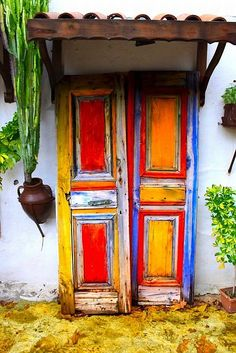 Rainbow! Beautiful Doors From around the World