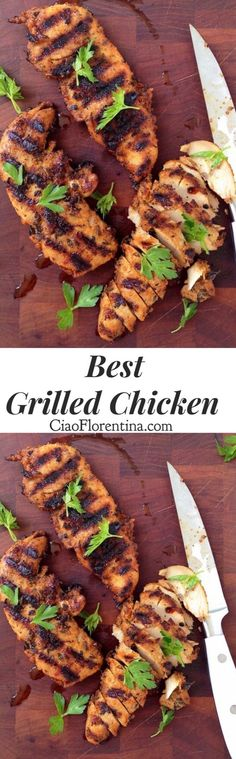 Home Made Doggy Foodstuff FAQ's And Ideas Best Grilled Chicken Recipe, Quick And Easy Made With Tenderloin And A Magical Smoky Homemade Spice Mix Ciaoflorentina Best Grilled Chicken Recipe, Best Chicken Recipes, Grilled Meat, Turkey Recipes, Grilled Chicken Tacos, Chicken Meals, Recipe Chicken, Roast Chicken, Grilling Recipes