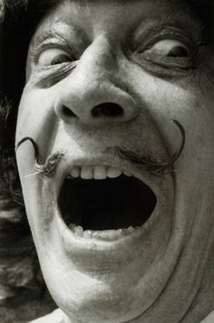Dali, was a very off beat artist. You could never predict what his next project would look like. I thought he was cool.