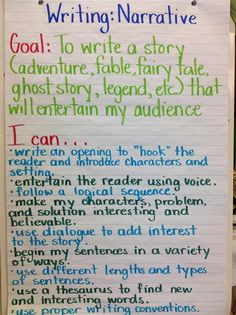 We have started narrative writing will be continuing with this writing form until the end of February. Students will be introduced to the on . Descriptive Writing Activities, Teaching Narrative Writing, Writing Mentor Texts, Personal Narrative Writing, Third Grade Writing, Kids Writing, Writing Workshop, Improve Writing Skills, English Writing Skills
