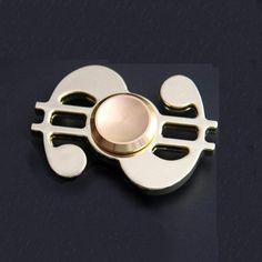 Aluminum Dollar Fidget Spinner Anti Stress Turbo Pocket Finger Kreisel