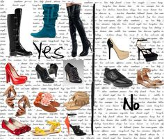 How to dress the Apple or Circle Body Shape - Best shoes