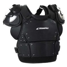 Free shipping - Champro Pro-Plus Umpire Chest Protector Plate Armour Baseball Softball Black CP3 - Protective/Umpire Equipment - Officials