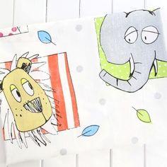 Купить Животные джунглей baby хлопок хлопок ткань ткань детский сад детский мультфильм Лев слон постельные принадлежности из категории Ткани, нитки и аксессуары для шитья на Kupinatao.com