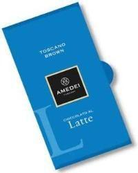 Amedei Toscano Brown Latte Milk Chocolate Bar