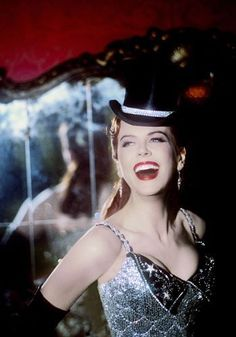 Nicole Kidman - as Satine in Moulin Rouge.