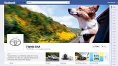 #Facebook #Timeline Brand Pages sample - Toyota
