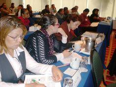 Todos los asistentes realizan las dinamicas de los temas vistos para comparar resultados.