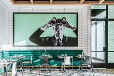 6 Eye-Catching Restaurants Glass House by Hacin +. Architecture Restaurant, Restaurant Interior Design, Interior Architecture, Magazine Design, Interior Design Magazine, Restaurant Banquette, Cafe Restaurant, Modern Restaurant, Restaurant Ideas