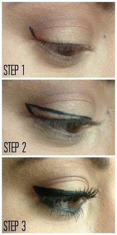 Make-Up Eyeliner Haarspray Highheels Tutorial und Winged Winged Eyeliner Tutorial Haarspray und Highheels You are in the right place about beauty tips All Things Beauty, Beauty Make Up, Diy Beauty, Beauty Hacks, Beauty Blogs, Winged Eyeliner Tutorial, Winged Liner, Eye Tutorial, Simple Eyeliner Tutorial