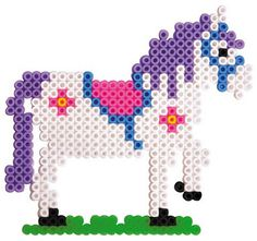 Horse perler beads