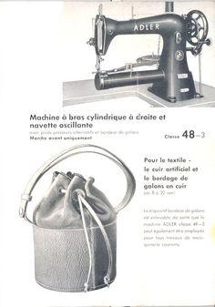 Adler ,  #leather #sewingmachine #sewing #machine