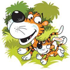 Cartoon Illustrations by Nick Diggory Jungle Animals, Cute Animals, Illustration Art, Cartoon Illustrations, Cute Characters, Digital Stamps, Nursery Art, Childrens Books, Illustrators